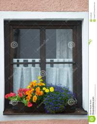 Window And Flower Royalty Free Stock Images - Image: 21328409