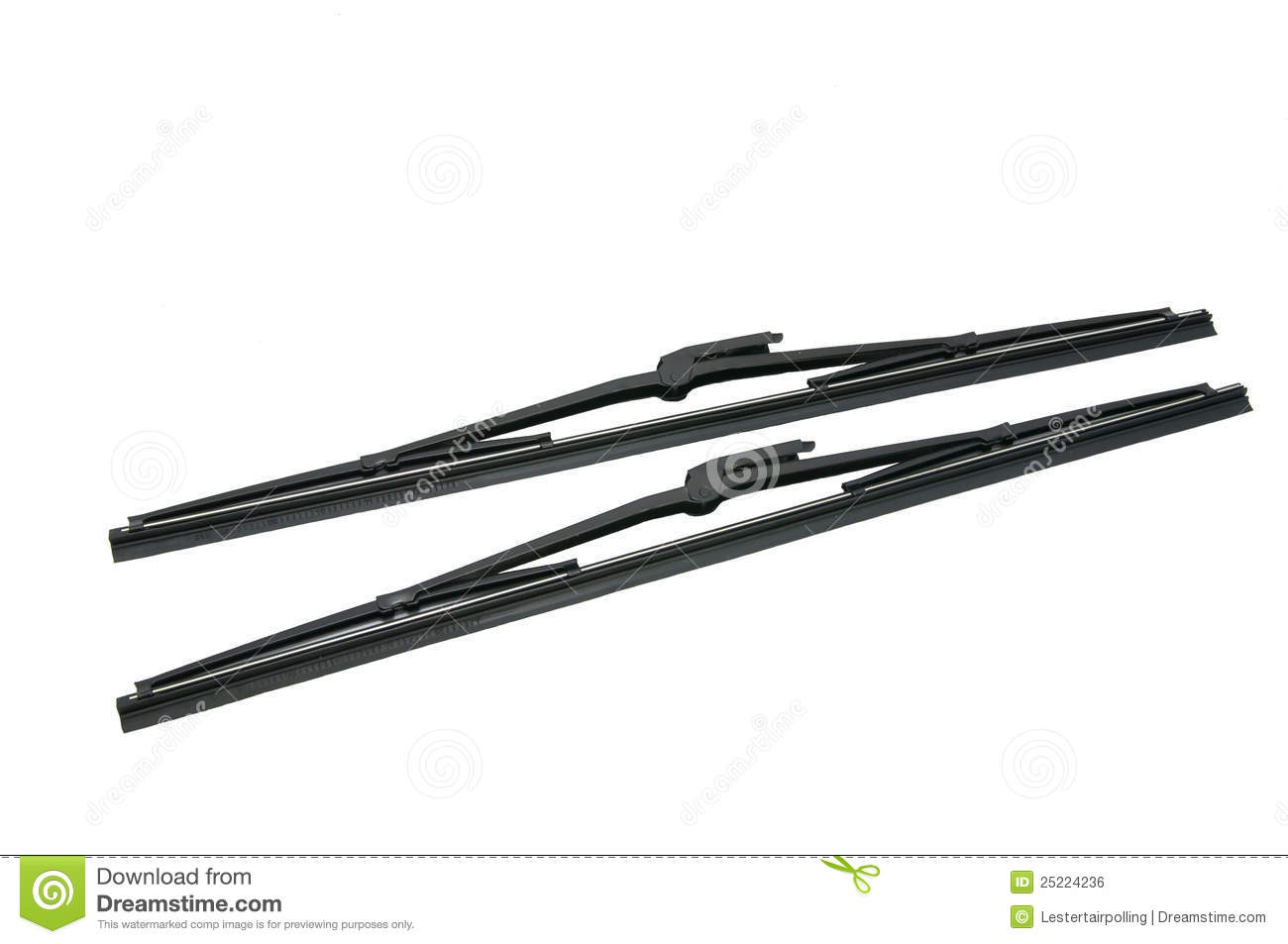 Windshield Wiper Royalty Free Stock Image