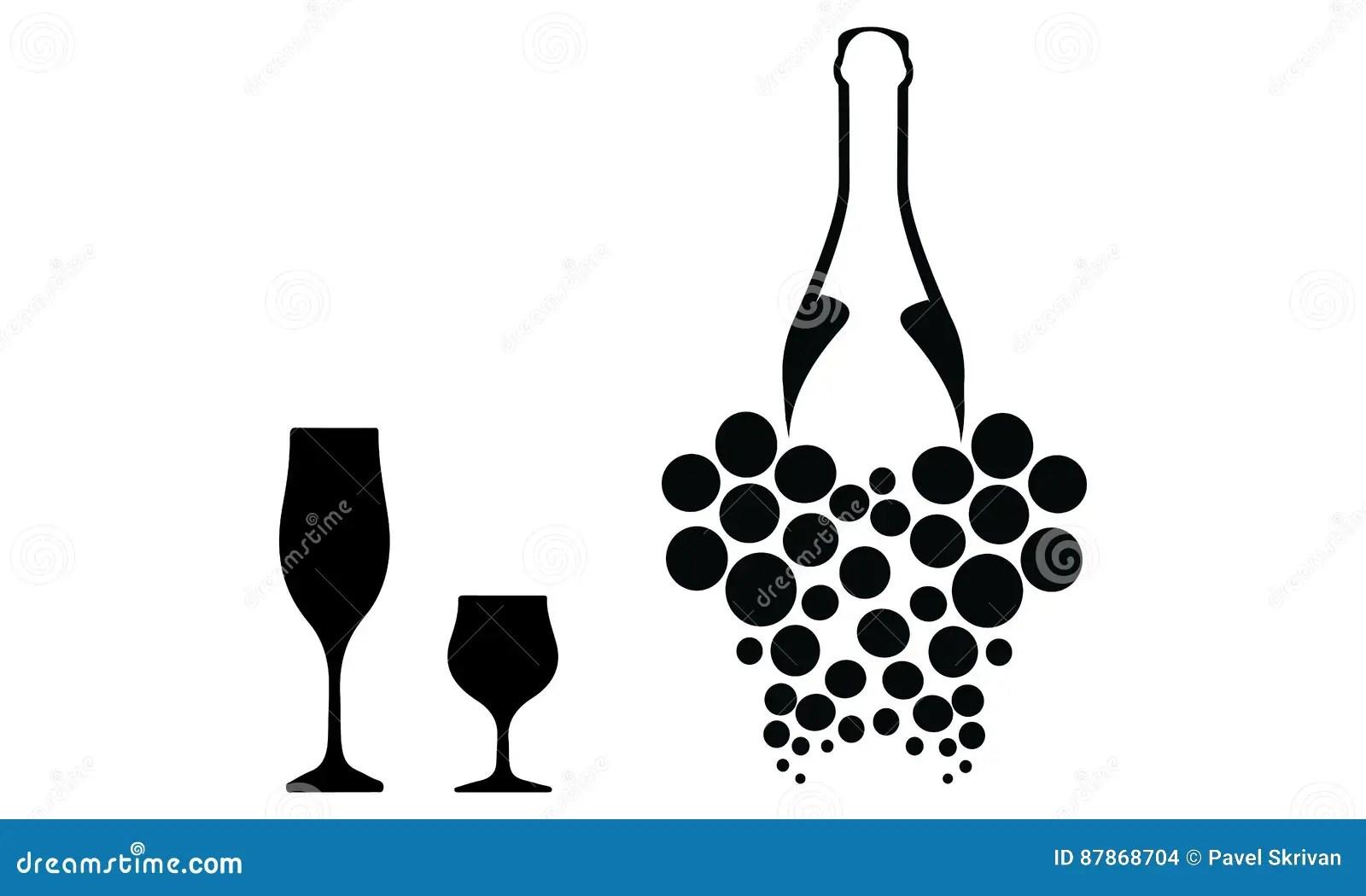 Wine List stock illustration. Illustration of concept