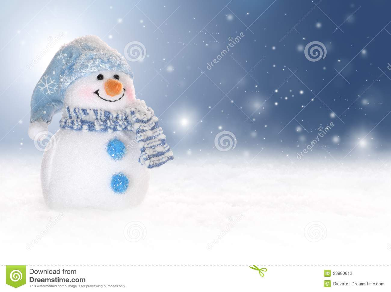 Cute Mittens Wallpaper Winter Background With A Snowman Snow And Snowflakes