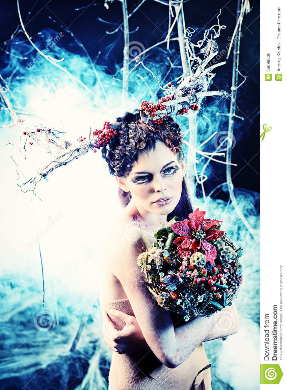 Winter Bouquet Royalty Free Stock Image  Image 36698806