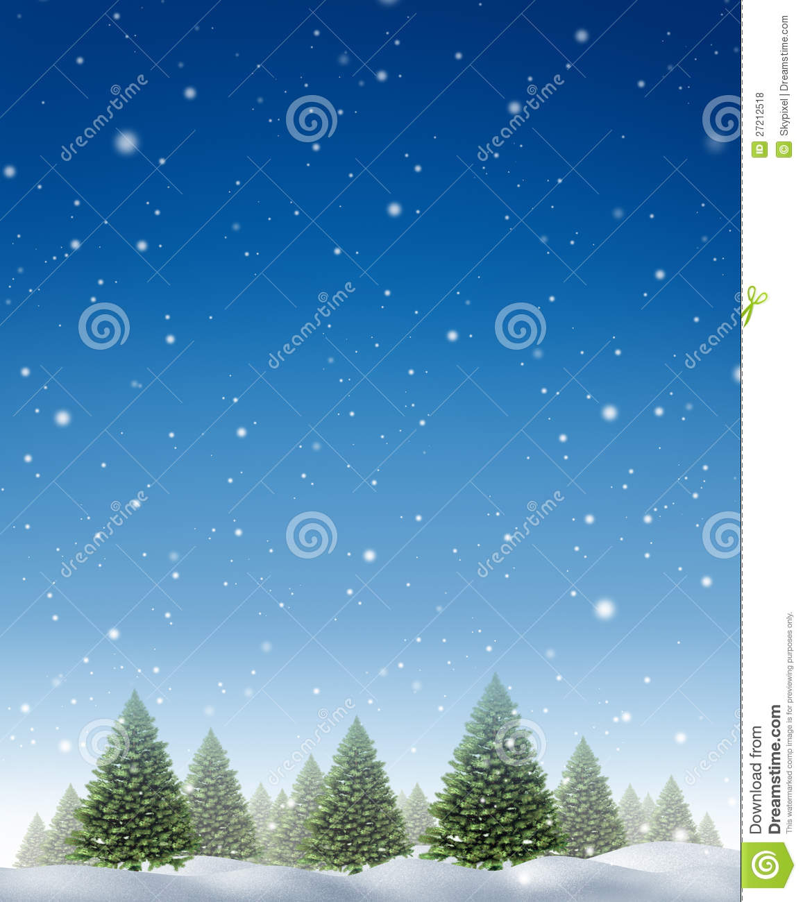 Snow Falling At Night Wallpaper Winter Holiday Background Royalty Free Stock Photos
