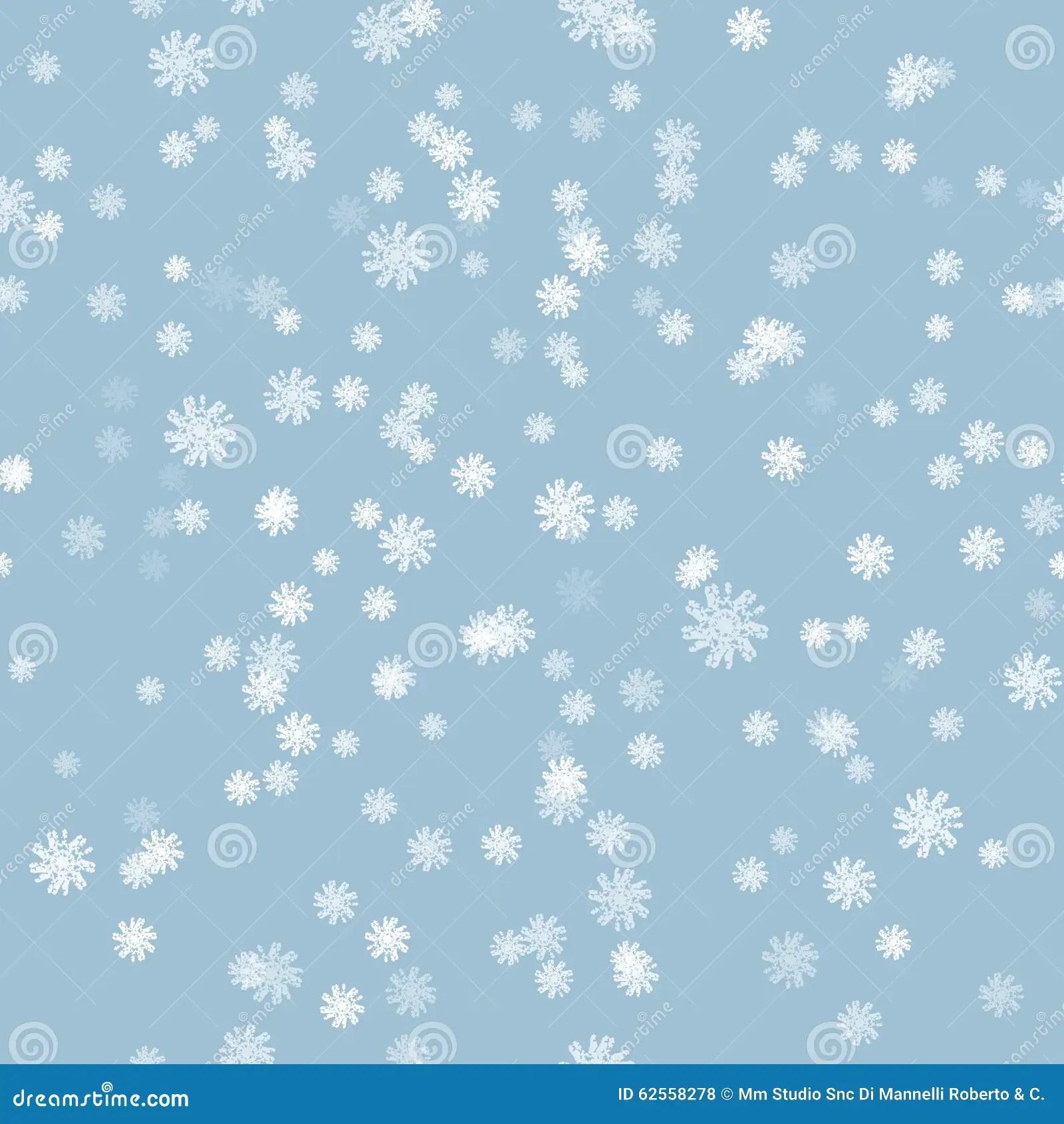 Free Falling Snow Wallpaper Winter Snow Brush Seamless Pattern Stock Vector Image