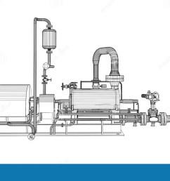 wire frame industrial pump [ 1300 x 791 Pixel ]