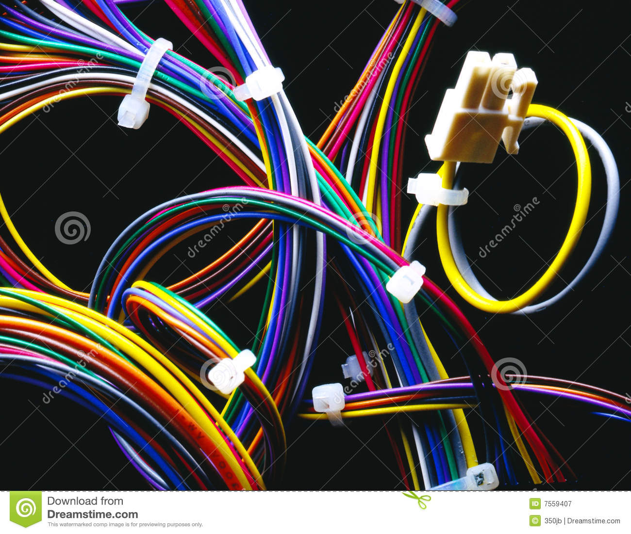 Wire Harness Stock Image Image Of Repair Service Power