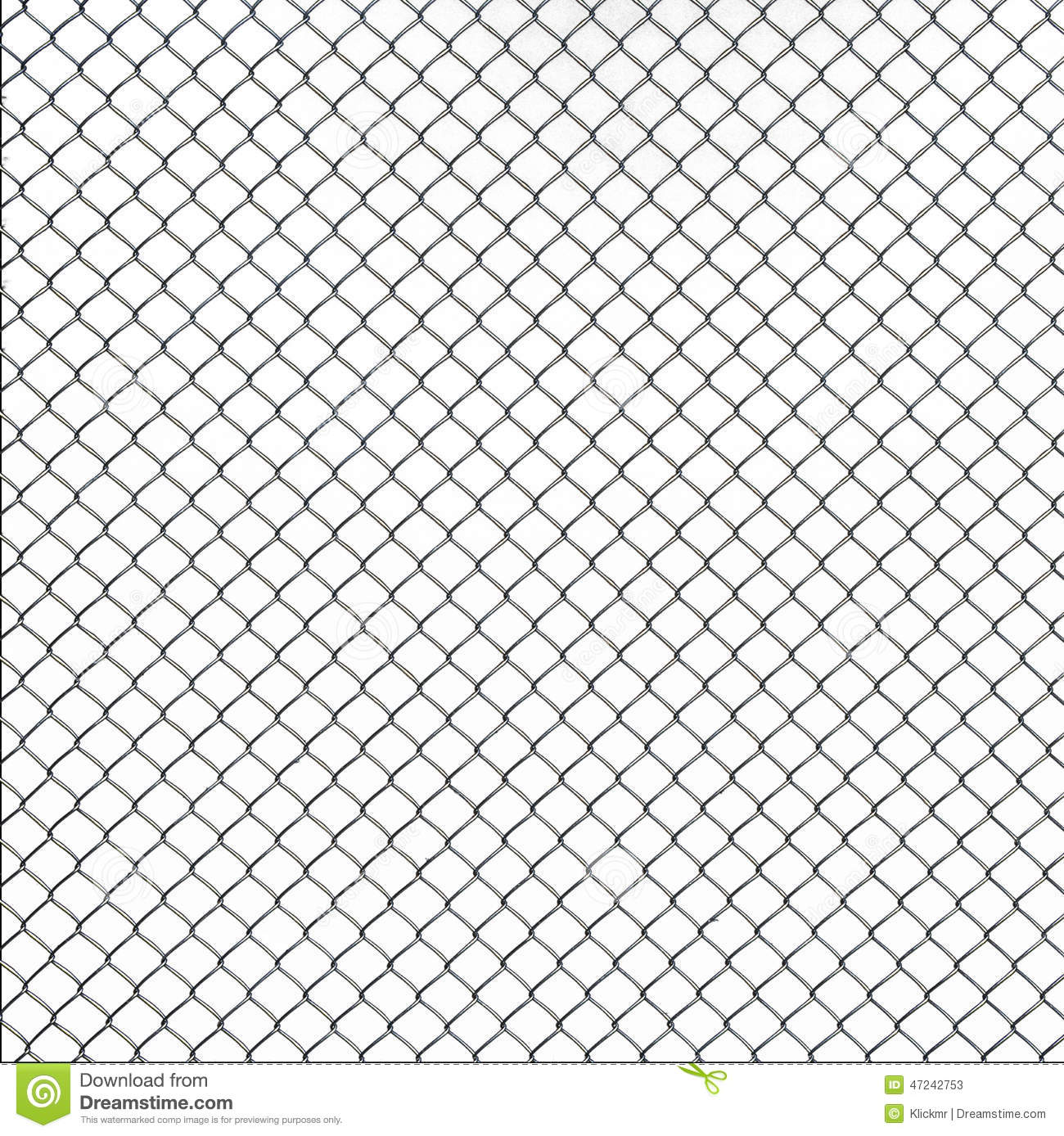 Wire Mesh Texture On White Background Stock Photo