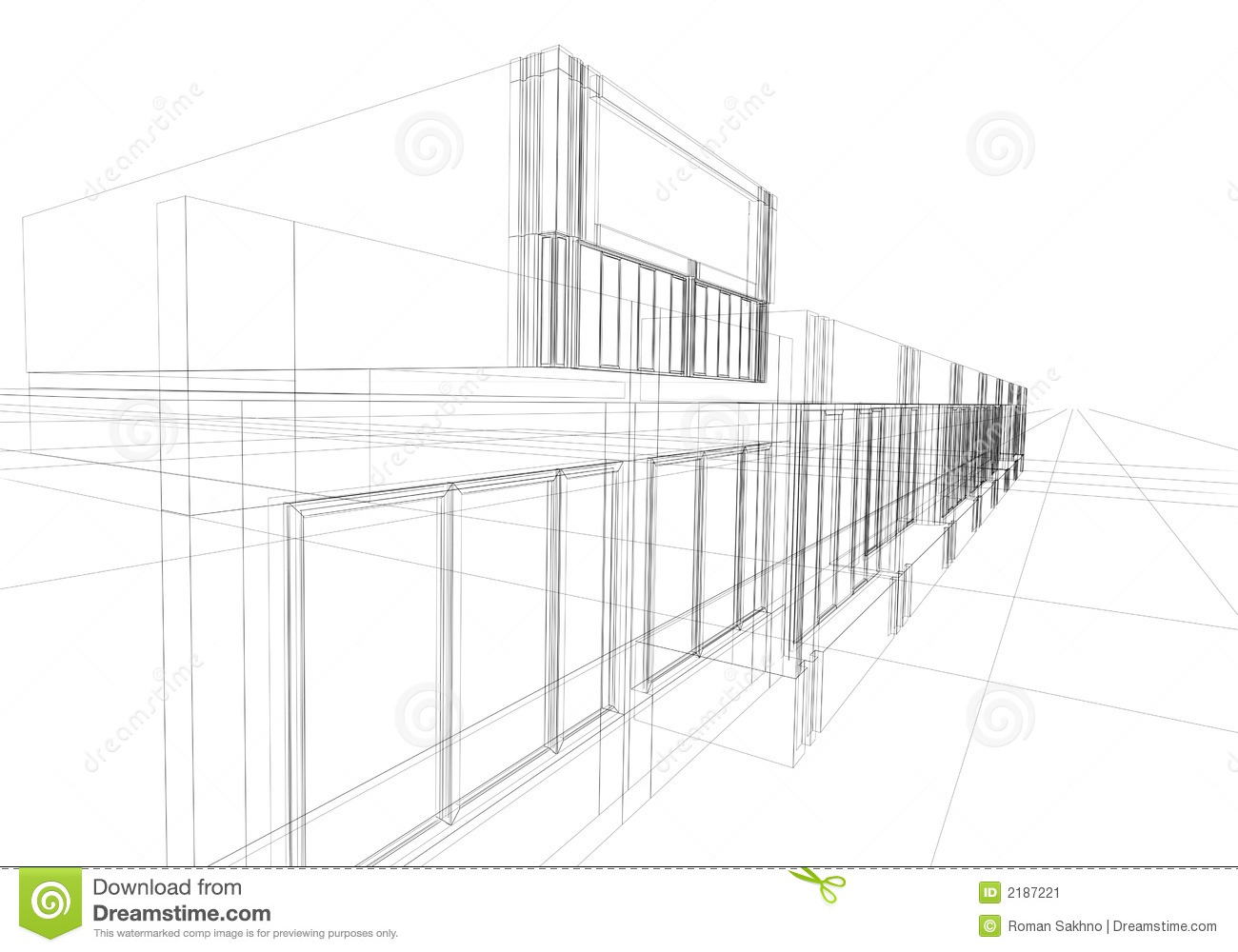 Wireframe abstract stock illustration. Illustration of