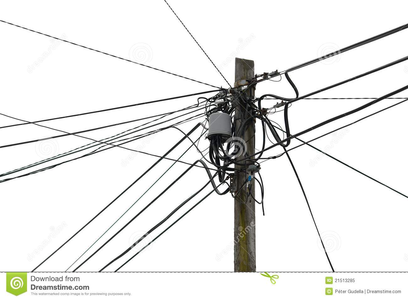 Wires Royalty Free Stock Photo