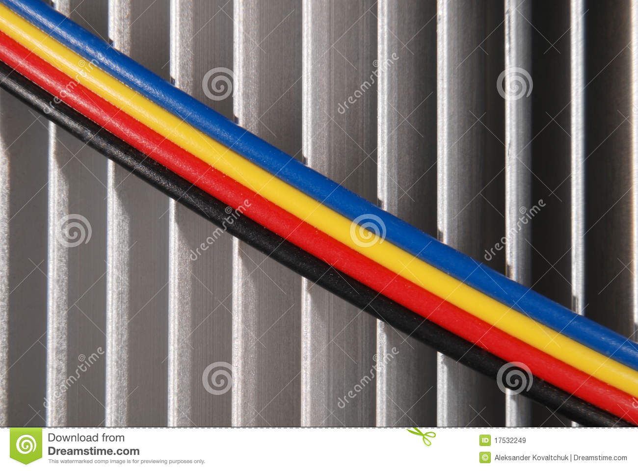 hight resolution of wires dark blue red yellow and black