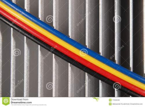 small resolution of wires dark blue red yellow and black
