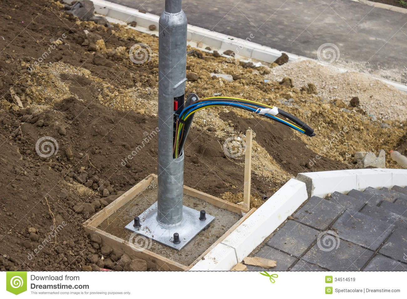 Wiring Outdoor Light Posts