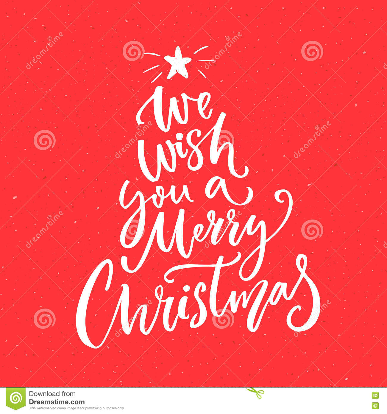 We Wish You A Merry Christmas Text Calligraphy Text For