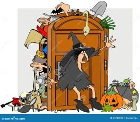 Closet: Closet Door Cartoon