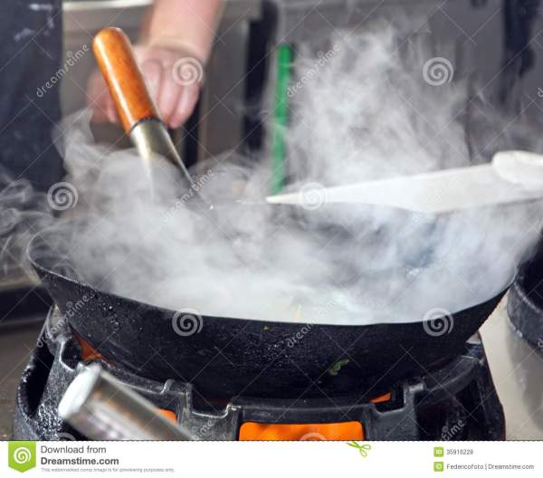 Steam Cooking Vegetables