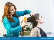 woman in beauty salon royalty