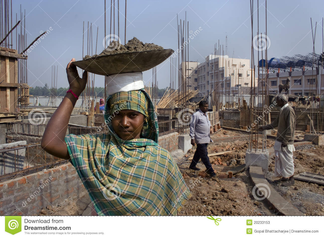 Woman Construction Worker Editorial Stock Photo  Image