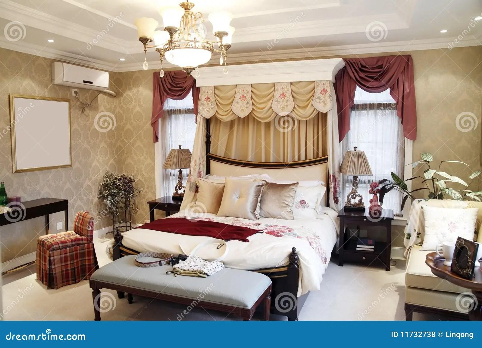 Woman S Bedroom Interior Royalty Free Stock Photos