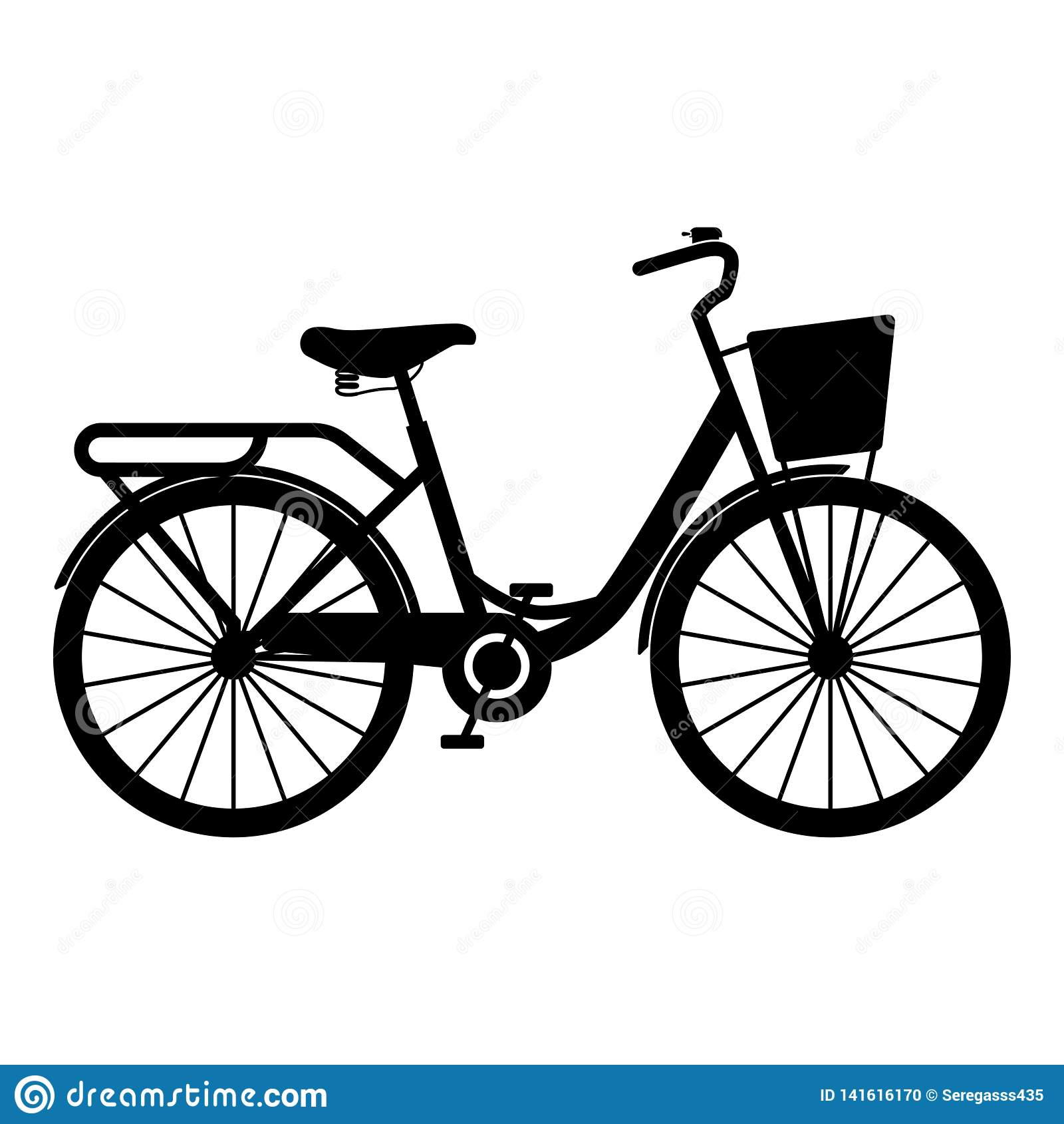 woman s bicycle with