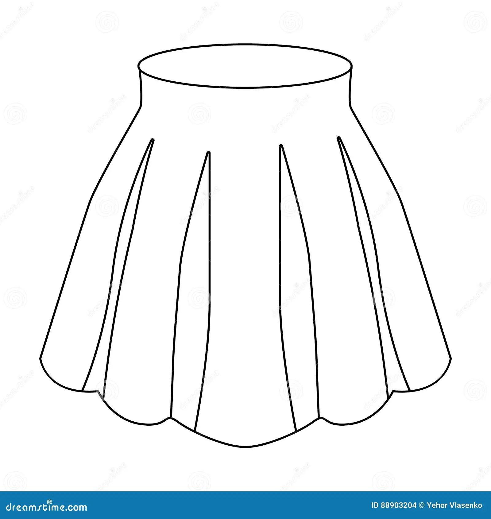 Women S Light Summer Skirt With Pleats Beautiful Women S