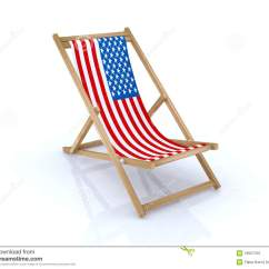 American Flag Chair Medicine Ball Target Wood Beach With Stock Illustration
