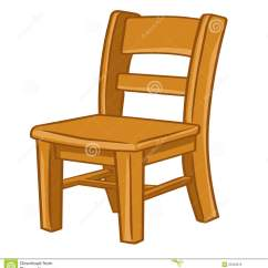 Wooden Chairs Pictures Poang Chair Cushion Replacement Wood Isolated Illustration Stock Vector Image
