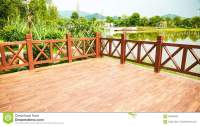 Wood Deck Wooden Patio Outdoor Stock Photo - Image of deck ...