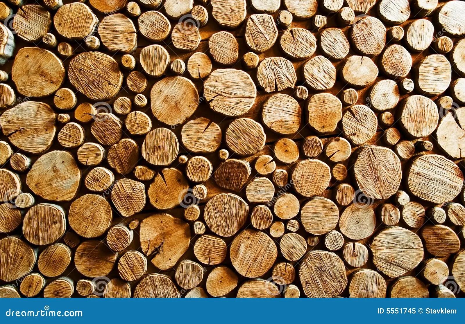 wood log backround stock