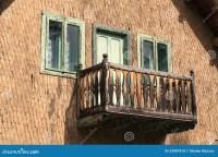 Wooden Balcony Royalty Free Stock Photos - Image: 33987818