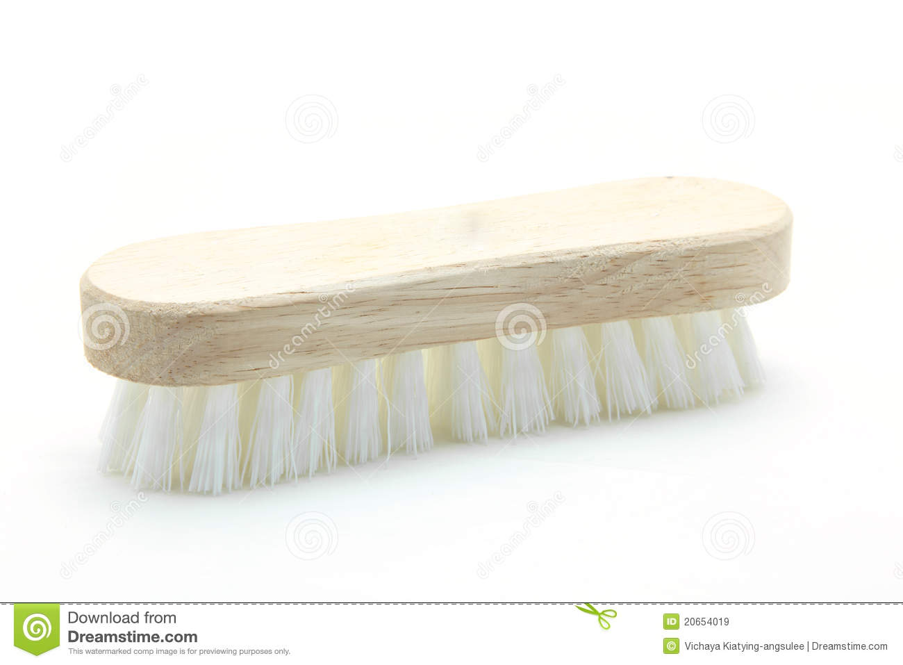 kitchen scrub brush chair wooden cleaning royalty free stock images