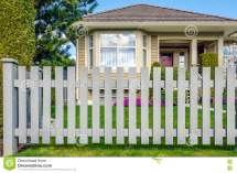 Country Style Wood Fence