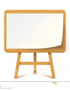 Illustration of wooden flip chart with white paper on background also flipchart stock vector easel rh dreamstime