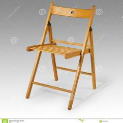 Brown Wooden Folding Chairs Herman Miller Office Chair Royalty Free Stock Photography