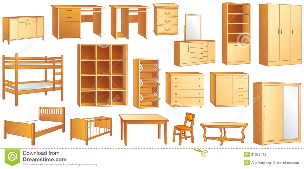 medium resolution of wood furniture clipart