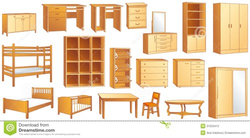 small resolution of wood furniture clipart