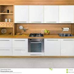 White Wood Kitchen Table Lowes Remodel Cost Wooden Royalty Free Stock Photos - Image: 11486428