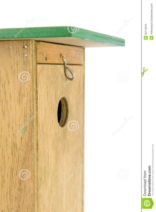 Wooden Nesting Box In Closeup Stock - Of Home