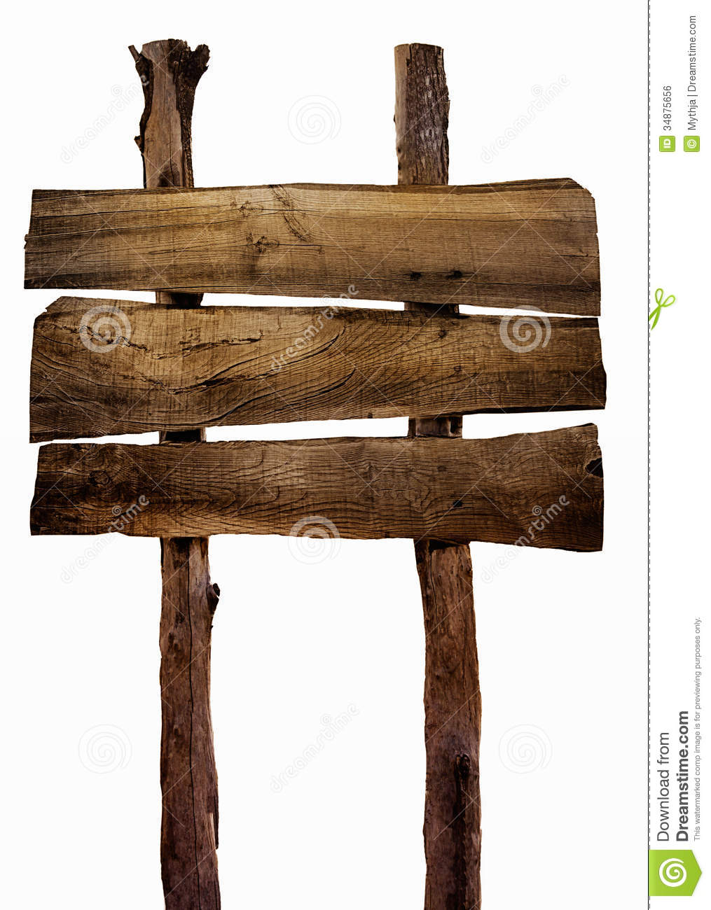 Wooden Sign Royalty Free Stock Image  Image 34875656