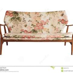 Printed Fabric Sofa Designs Sectional Sleeper Small Es Wooden Upholstered In Floral Vintage