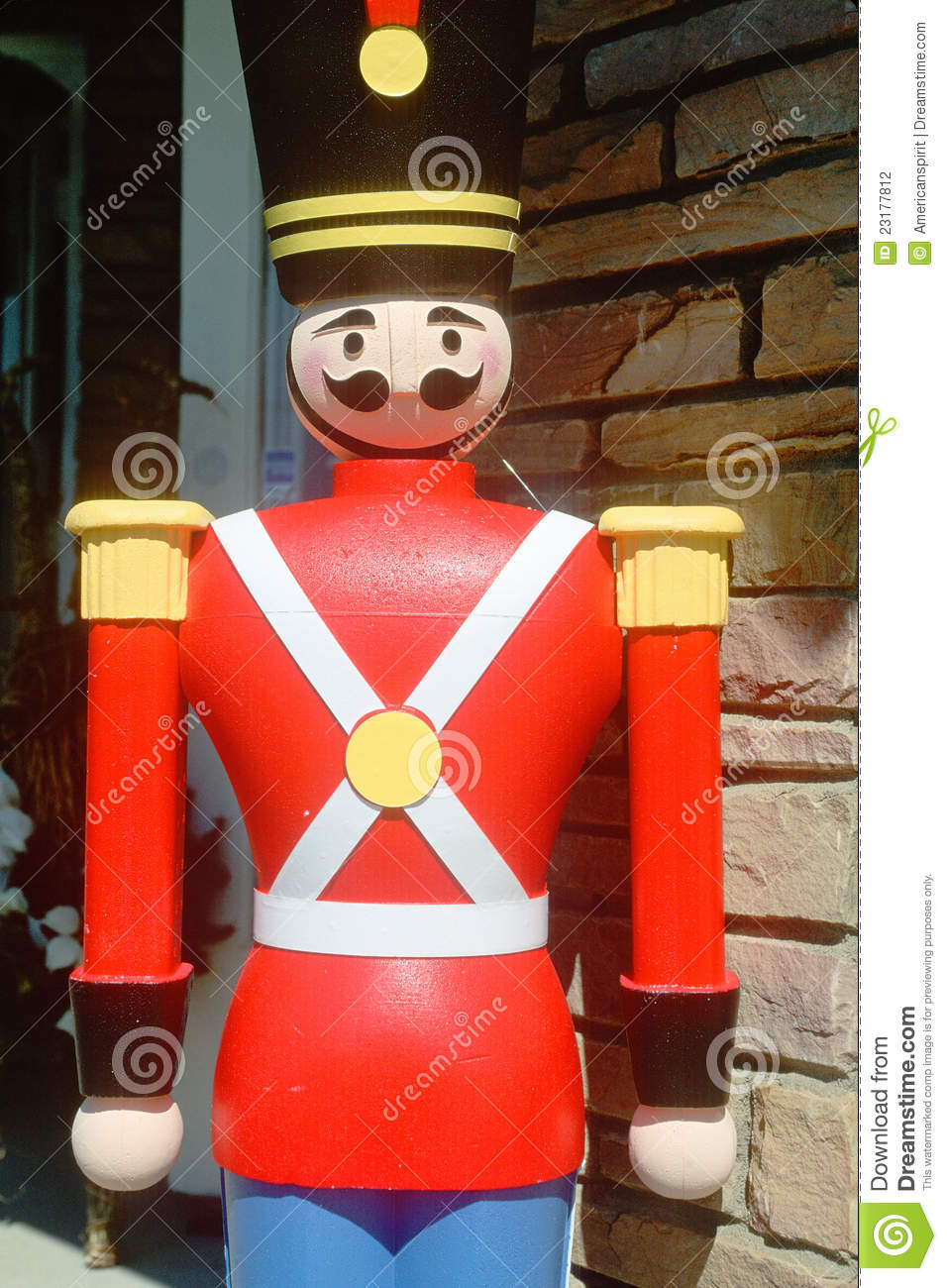 Wooden Soldier Stock Photo Image Of America Color