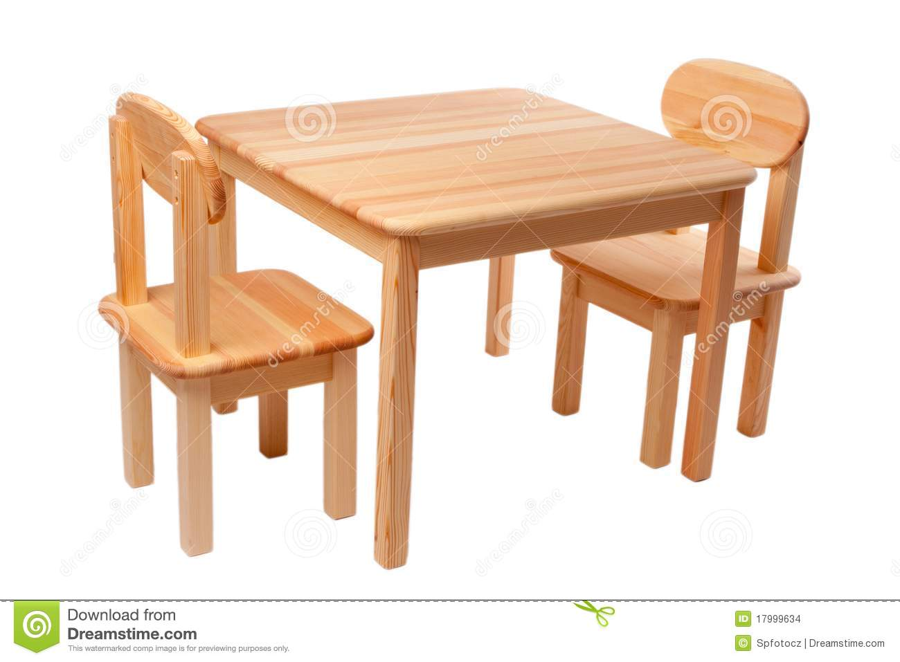 Table With Two Chairs Wooden Table With Two Chairs Stock Photo Image Of Pine Decor