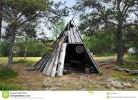 Wooden Tent Royalty Free Stock Photo - Image: 26167835