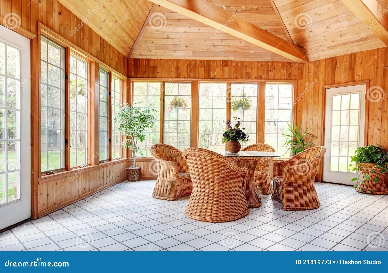 ceramic tile living room wall light gray paint wooden sun interior stock photos - image: 21819773