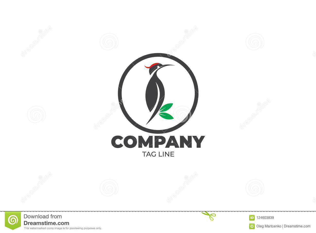 Woodpecker Logo Stock Illustrations 283 Woodpecker Logo