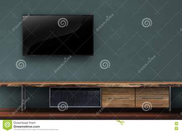 Tv Op Plank Aan Muur.Woonkamer Muur Tv Grijze Muur Woonkamer