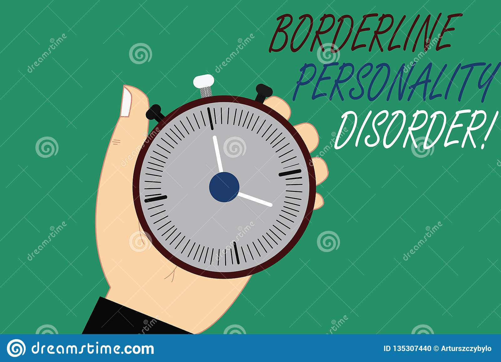 Word Writing Text Borderline Personality Disorder
