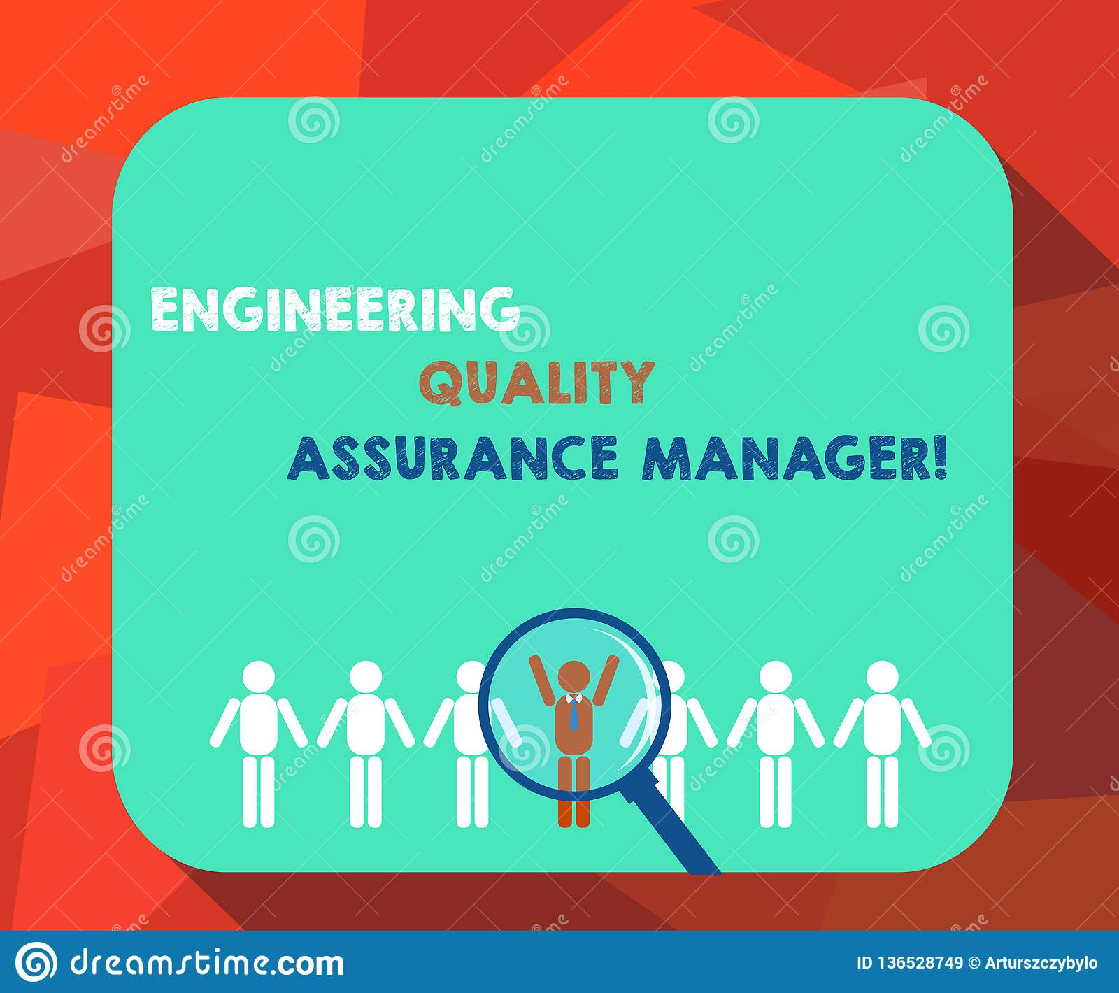 Word Writing Text Engineering Quality Assurance Manager
