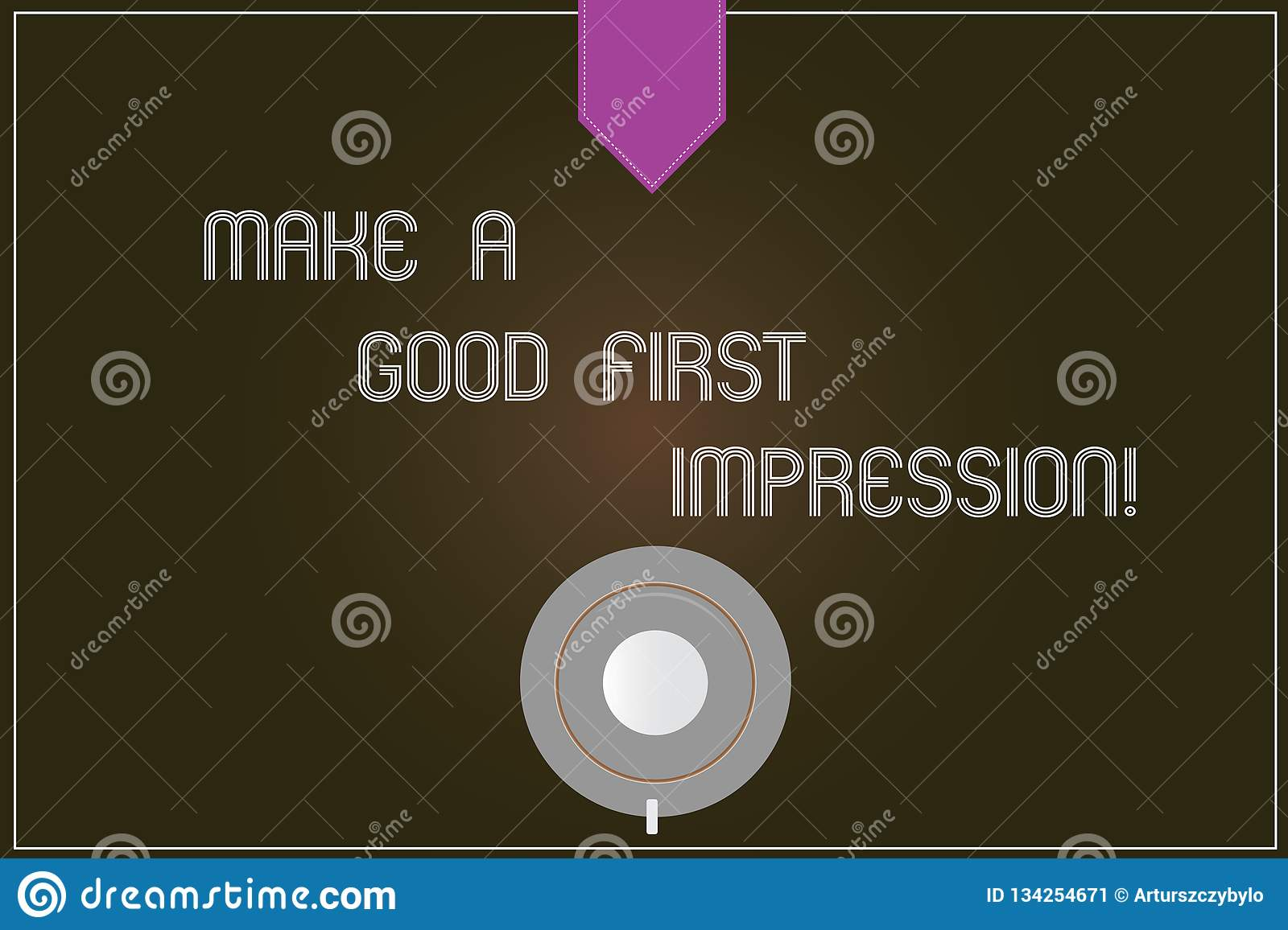 Word Writing Text Make A Good First Impression Business