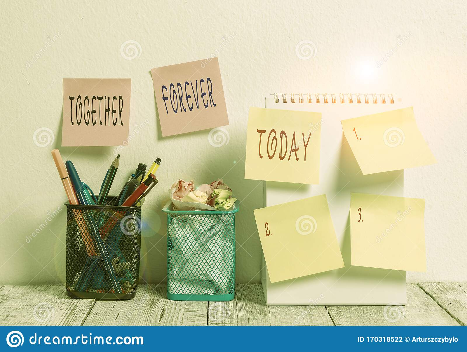 Word Writing Text Together Forever Business Concept For
