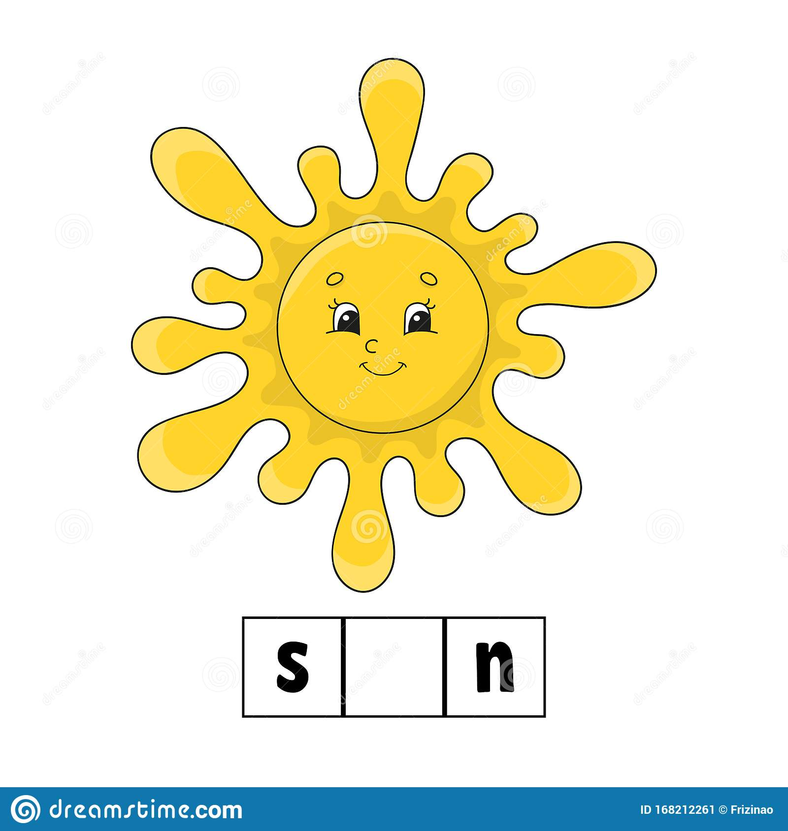 Words Puzzle Sun Education Developing Worksheet