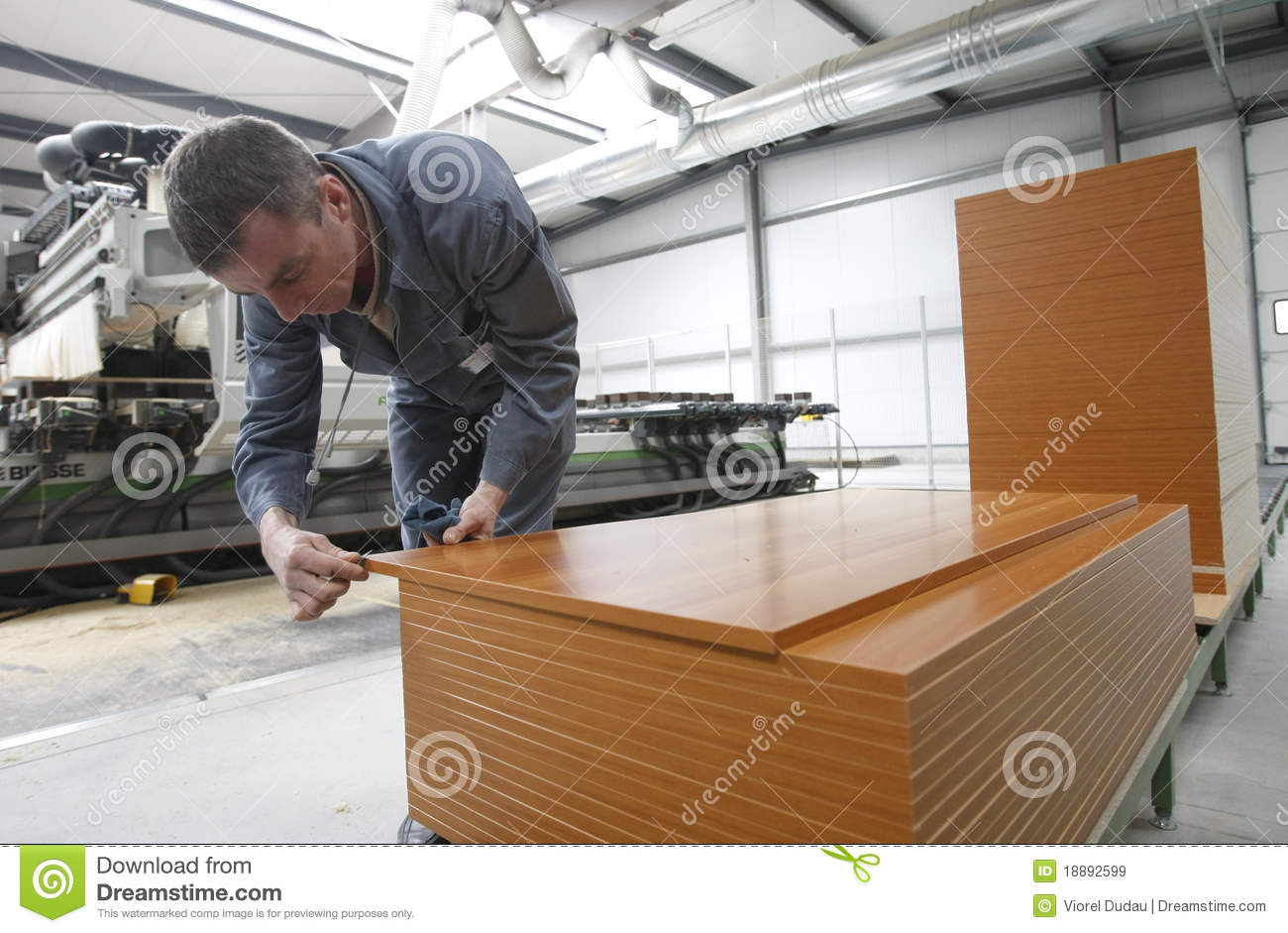 Factory De Muebles Worker In Furniture Factory Editorial Stock Image Image Of
